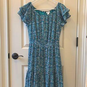 J Crew Mercantile Midi Dress